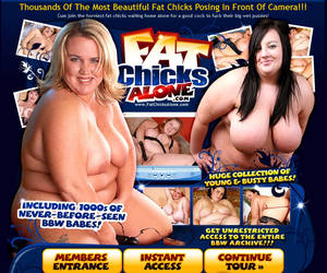 Fat Chicks Alone