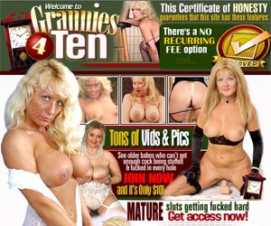 Granny for Ten- FULL MONTH ACCESS for only Ten Dollars!