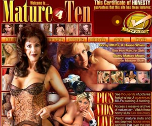Mature 4 Ten - Lusty Matures in Best Porn Movies